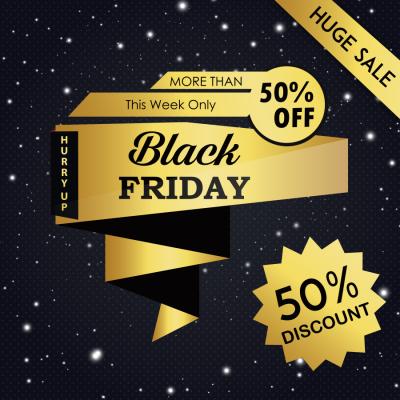 FlackFriday - Ưu đãi tất cả dịch vụ 50% duy nhất ngày 24/11